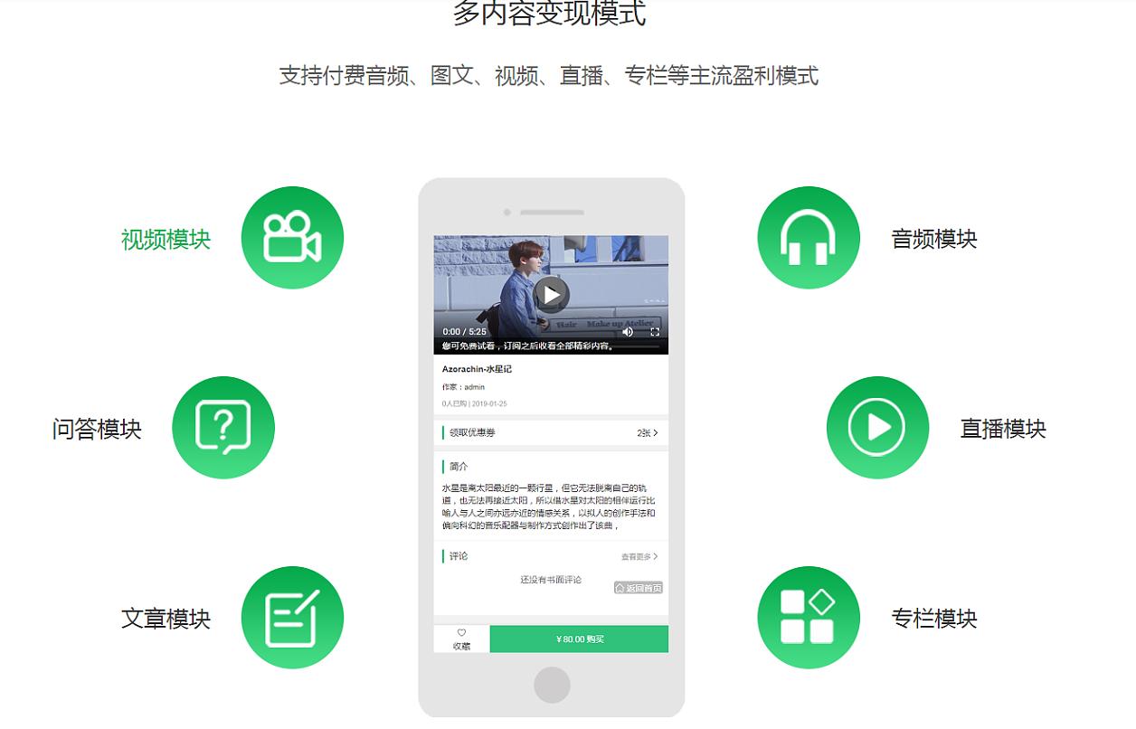 深圳知识付费小程序开发解决方案
